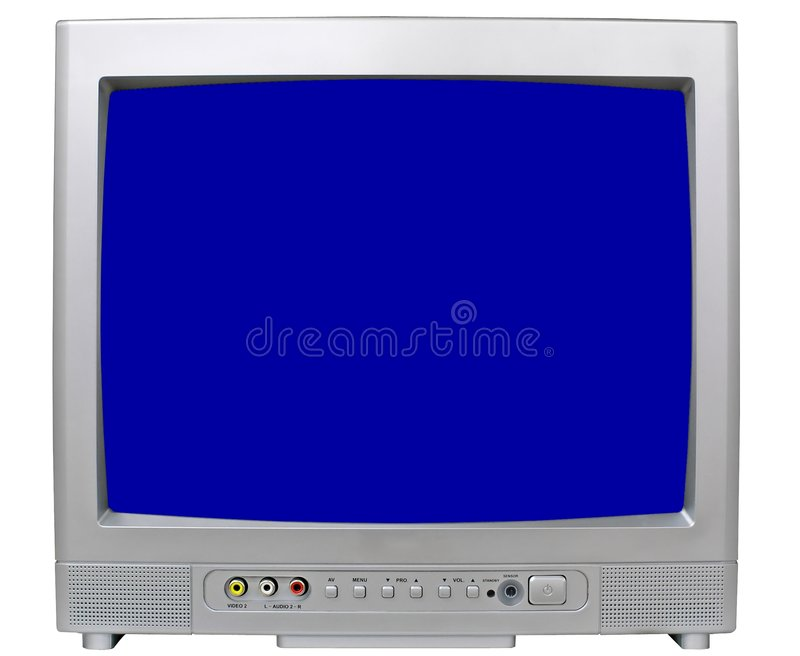 Download Small modern televisor stock image. Image of details, detail - 1550779