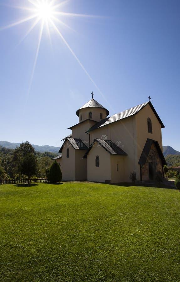 Small monastery stock image