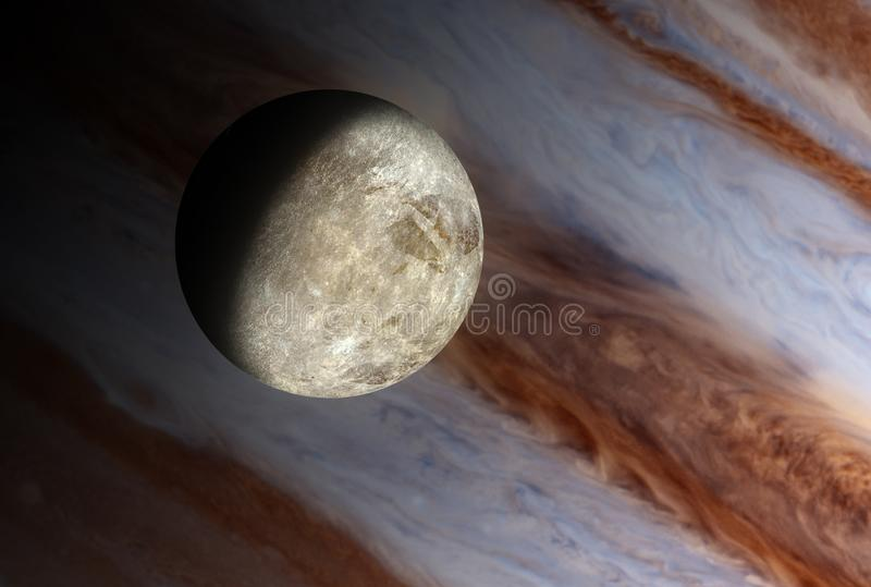 Small moon royalty free stock image