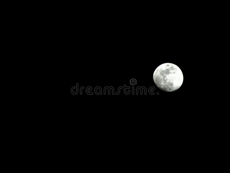 Download Small Moon stock image. Image of moon, dark, black, heavens - 90553475