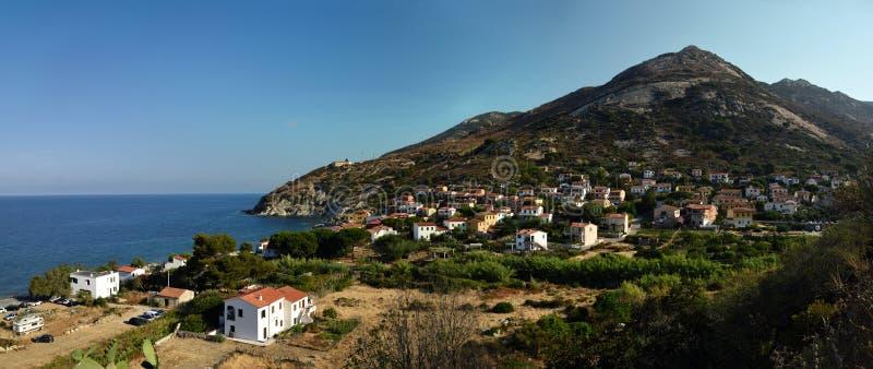 Pomonte, Tuscany, Elba, Italy royalty free stock photography