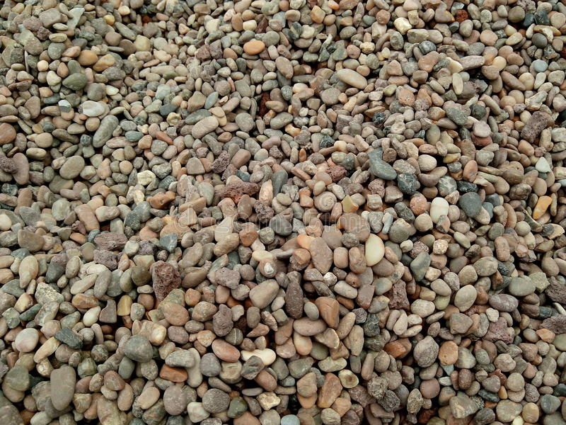 Small multicolored stones pattern royalty free stock image