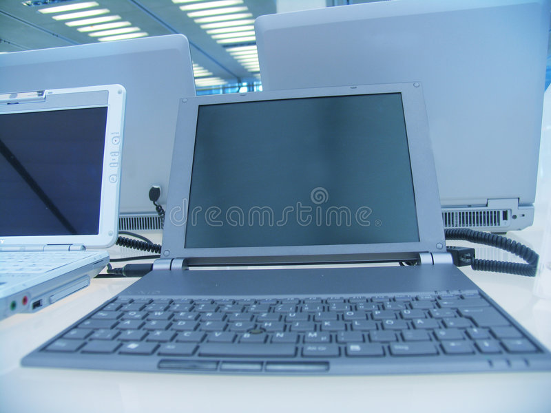 Download Small notebook in the row stock image. Image of blue, ceiling - 16723