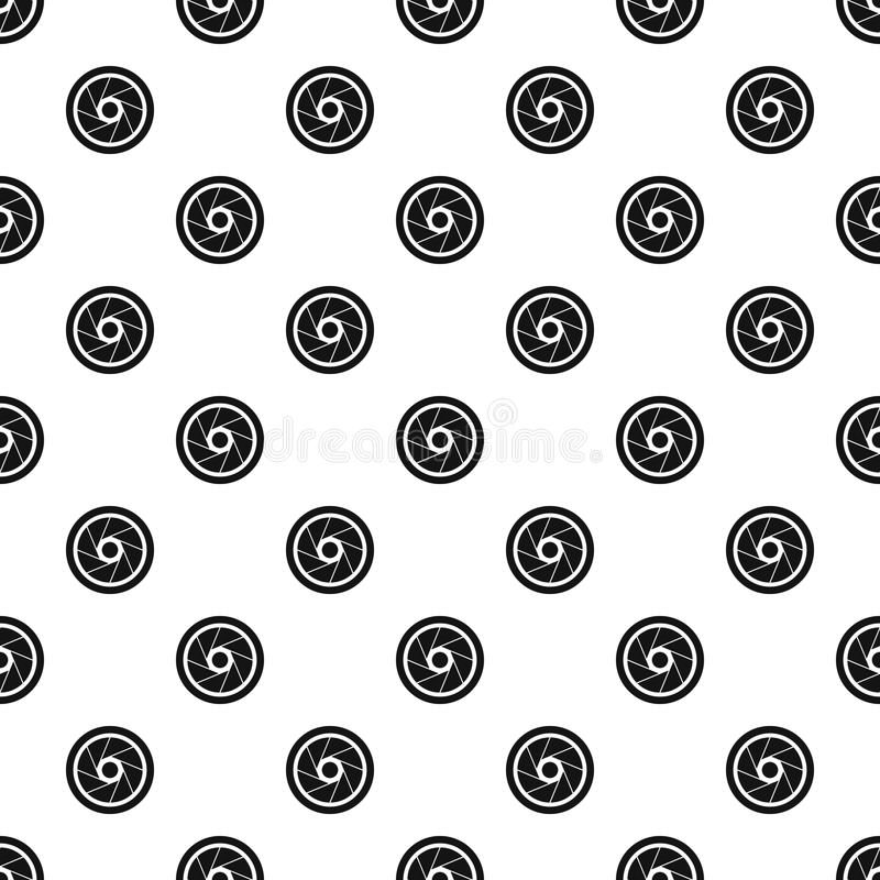 Small objective pattern vector. Small objective pattern seamless in simple style vector illustration royalty free illustration