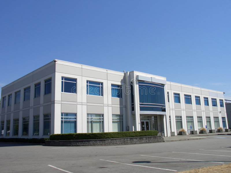 Small office building stock photography