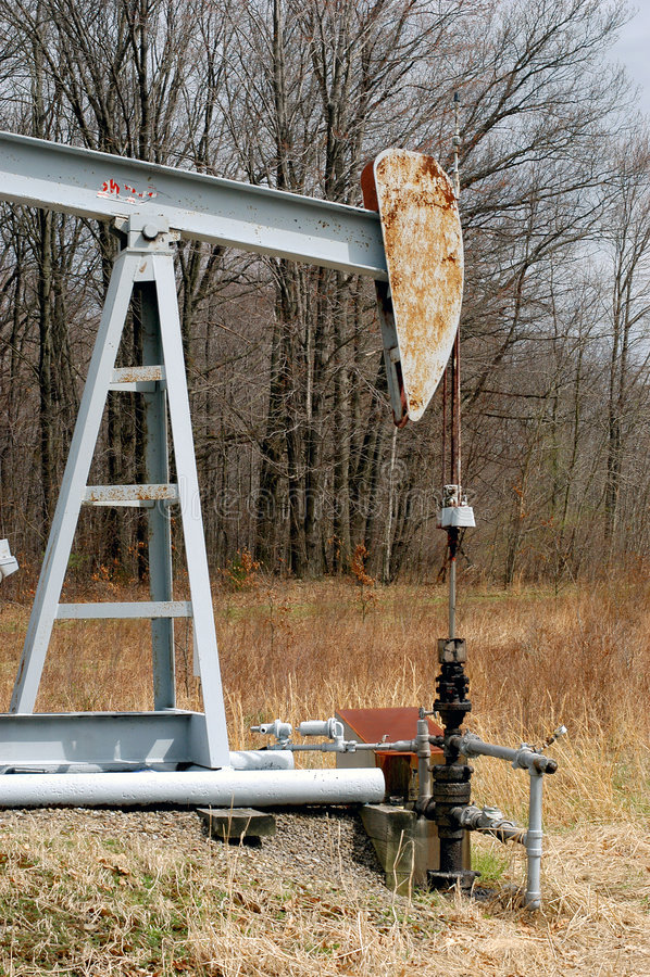 Small Oil Derrick stock image