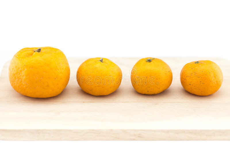 Small orange decoration royalty free stock photos
