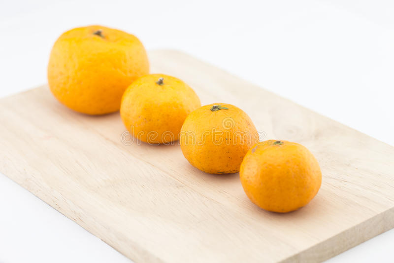 Small orange or kumquat royalty free stock images