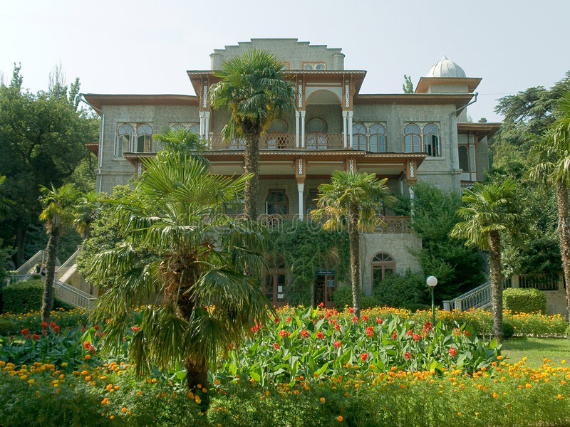 Small palace stock photo