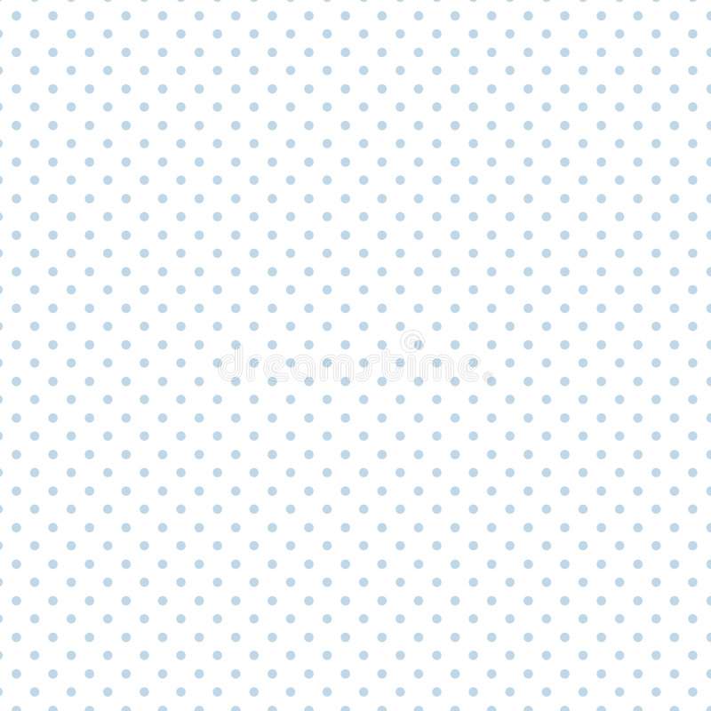 Download Small Pastel Blue Polka Dots On White, Seamless Stock Vector - Image: 5659203