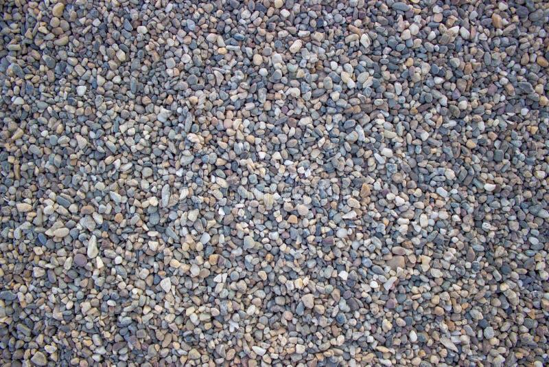 Small pebbles stock image