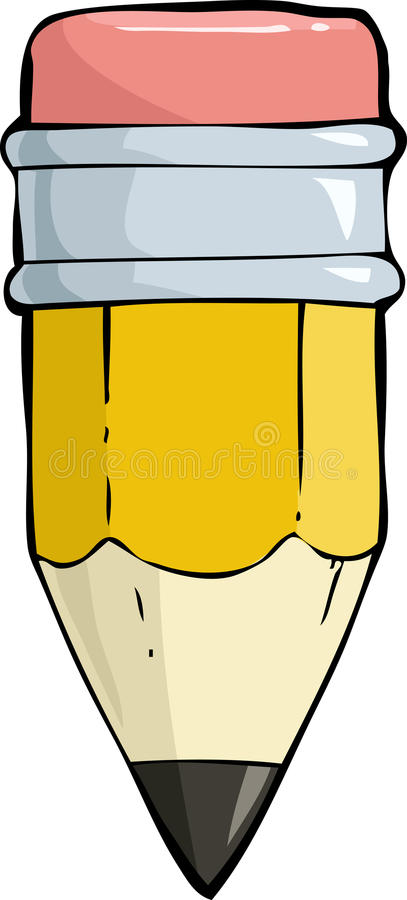 Download Small pencil stock vector. Image of vector, object, small - 29621338