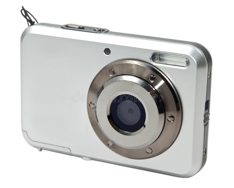 Download Small photo camera stock image. Image of focus, metal - 22751281