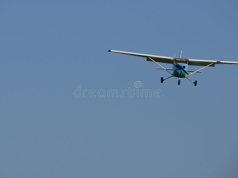 Download A small plane stock photo. Image of plane, aircraft, blue - 103182