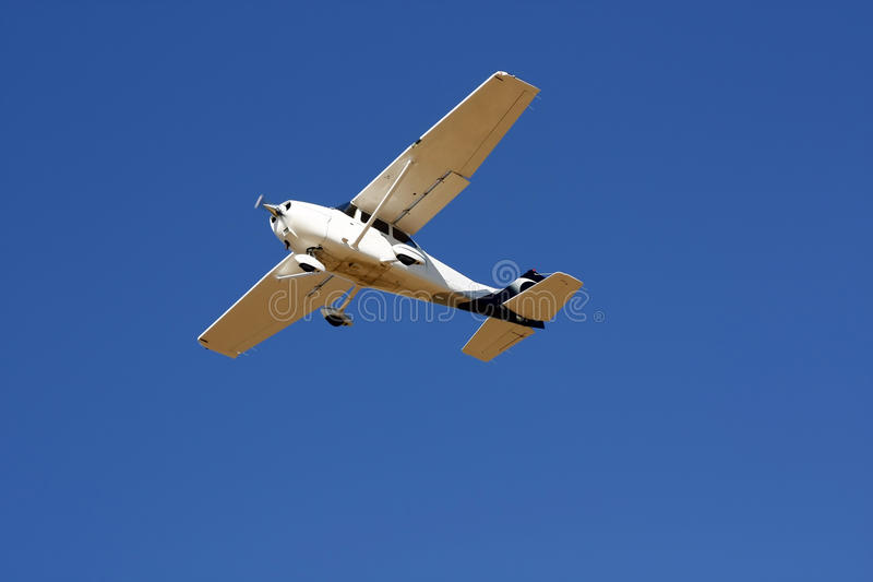 Small plane royalty free stock photo