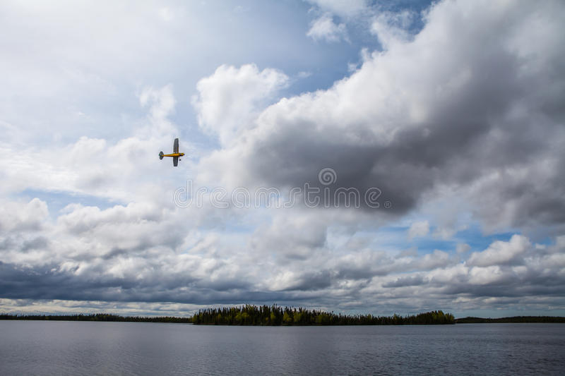 Download Small Plane In The Kenai Wildlife Refuge Stock Image - Image of sunlight, wilderness: 38208987