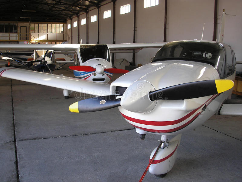 Small Planes royalty free stock photography
