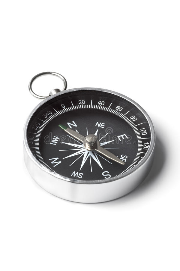 Download Small pocket compass stock photo. Image of pocket, navigation - 15735506