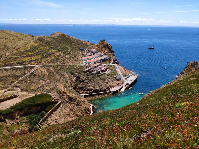 Small portuguese paradise royalty free stock images