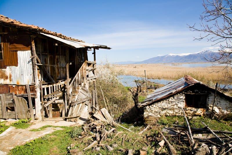 Small Prespa Lake stock photos