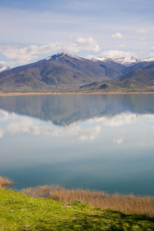 Small Prespa Lake, Greece royalty free stock photos