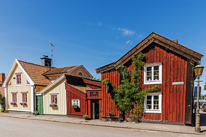 Small residential houses royalty free stock photography