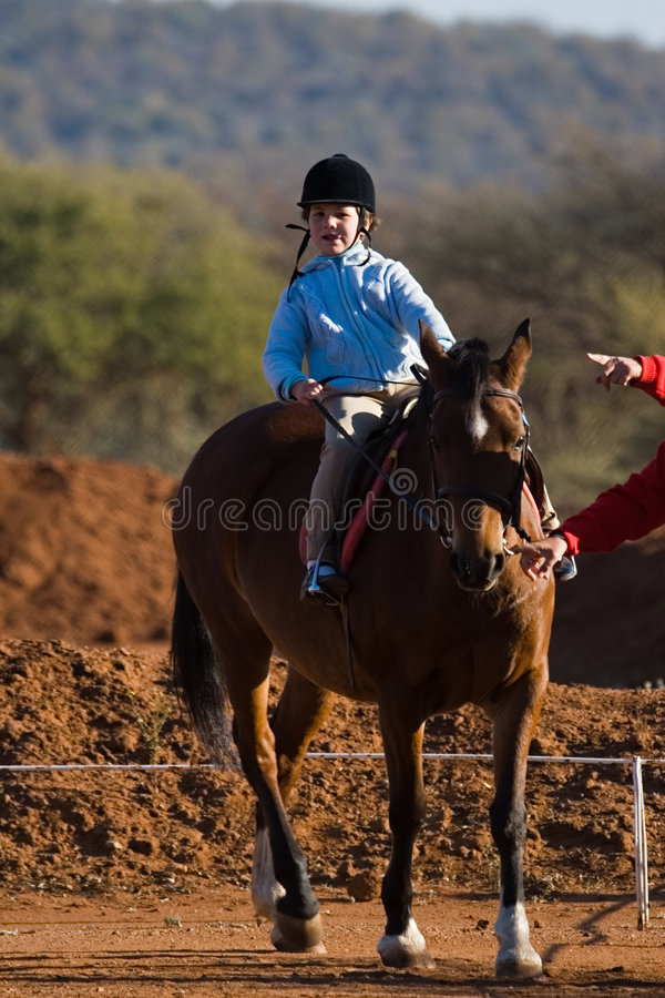 Small rider stock images