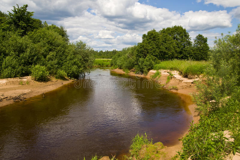 Download The small river stock image. Image of nature, wilderness - 14855441