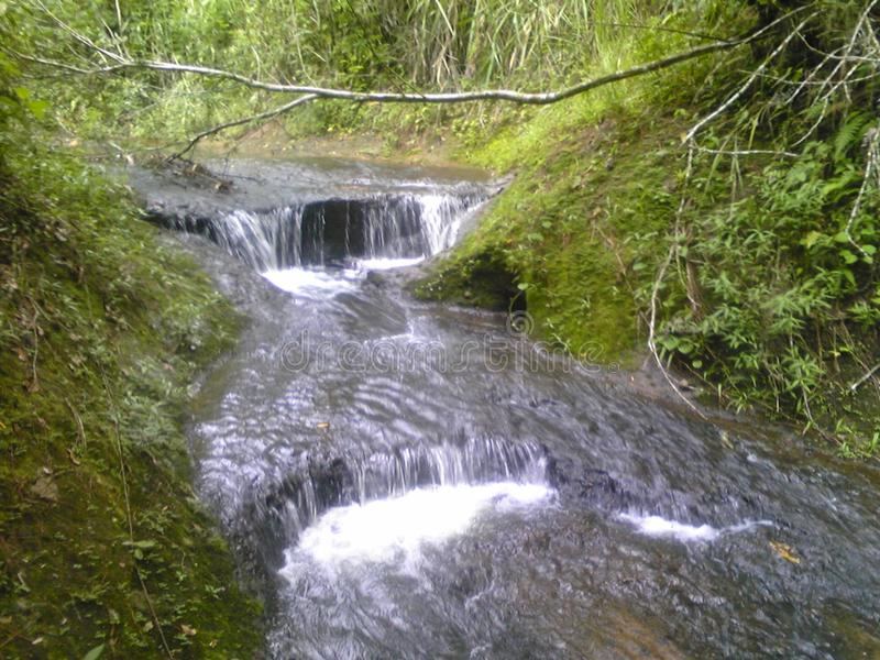 Small river fall royalty free stock photos