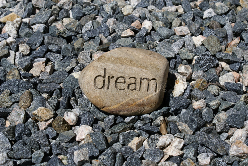 Download Small rock big dream stock photo. Image of fantasy, rock - 2798026