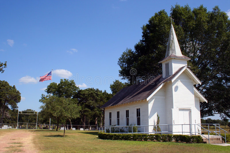 Download Small Rural Church In Texas Stock Photo - Image: 1410934
