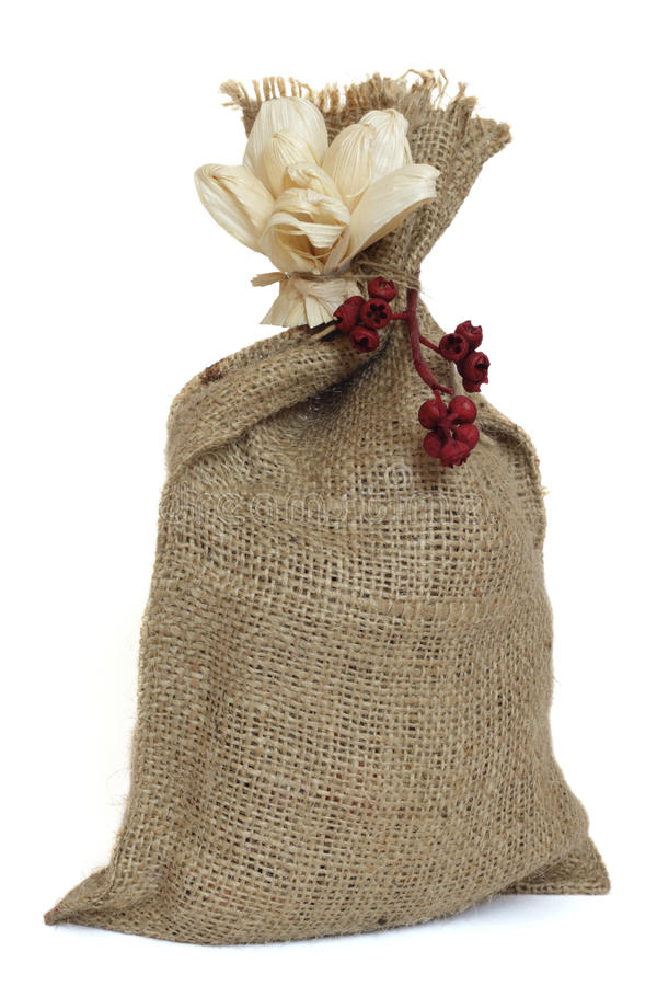 Download Small Sack. Stock Photo - Image: 17413230