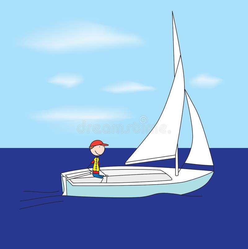 Download Small Sailboat Royalty Free Stock Photo - Image: 25512695