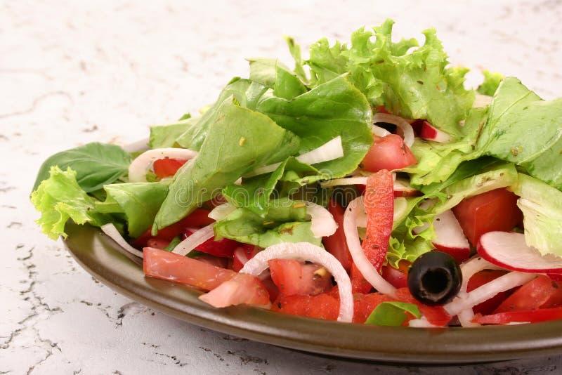 A small salad royalty free stock photo