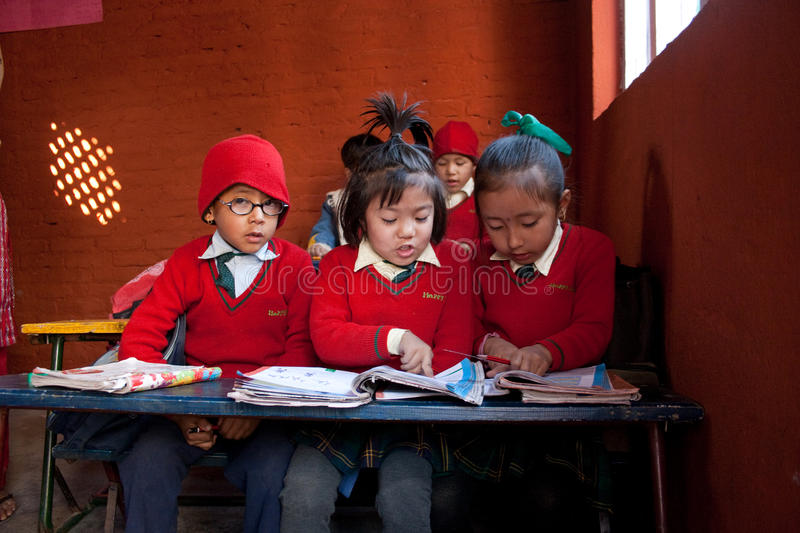 Download In small school editorial image. Image of pencil, learning - 12701790