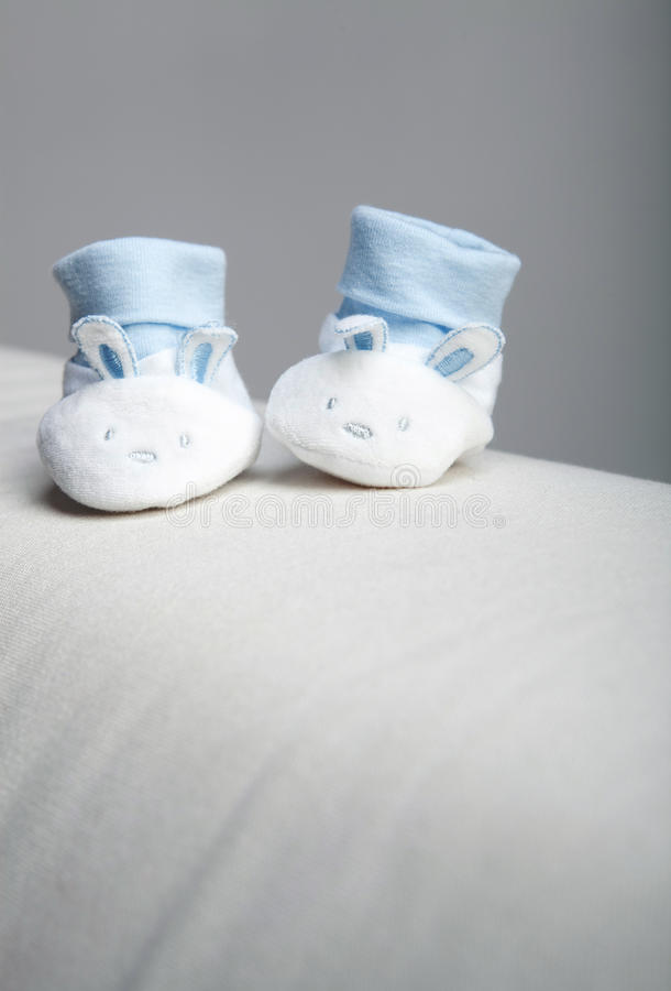 Small shoes stock photos