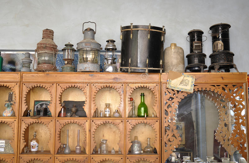 Download Small Shop With Ancient Items Stock Photos - Image: 13027083