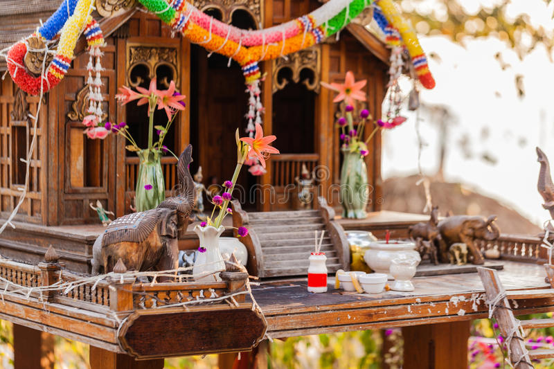 Small shrine royalty free stock image