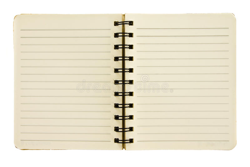 Download Small size notebook stock photo. Image of message, education - 16801020