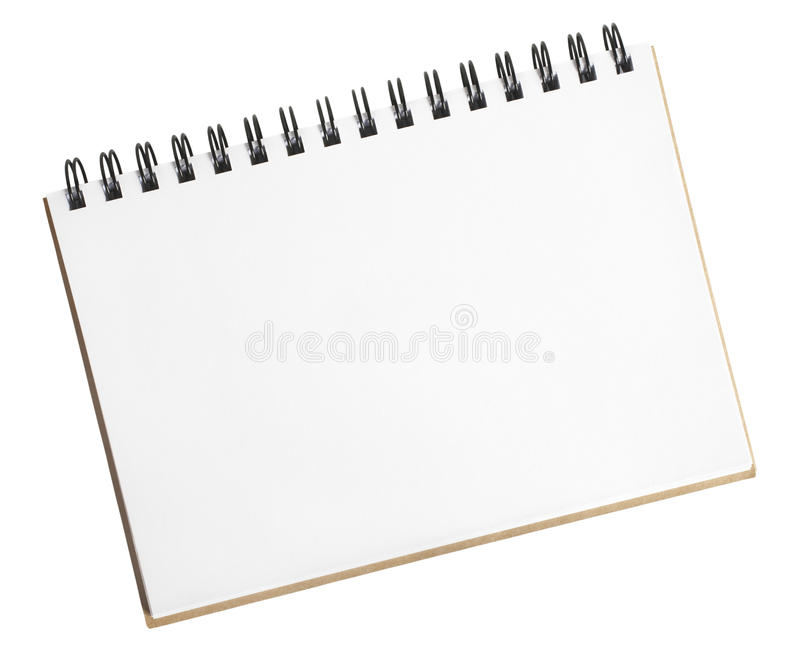 Small Sketch Pad royalty free stock images