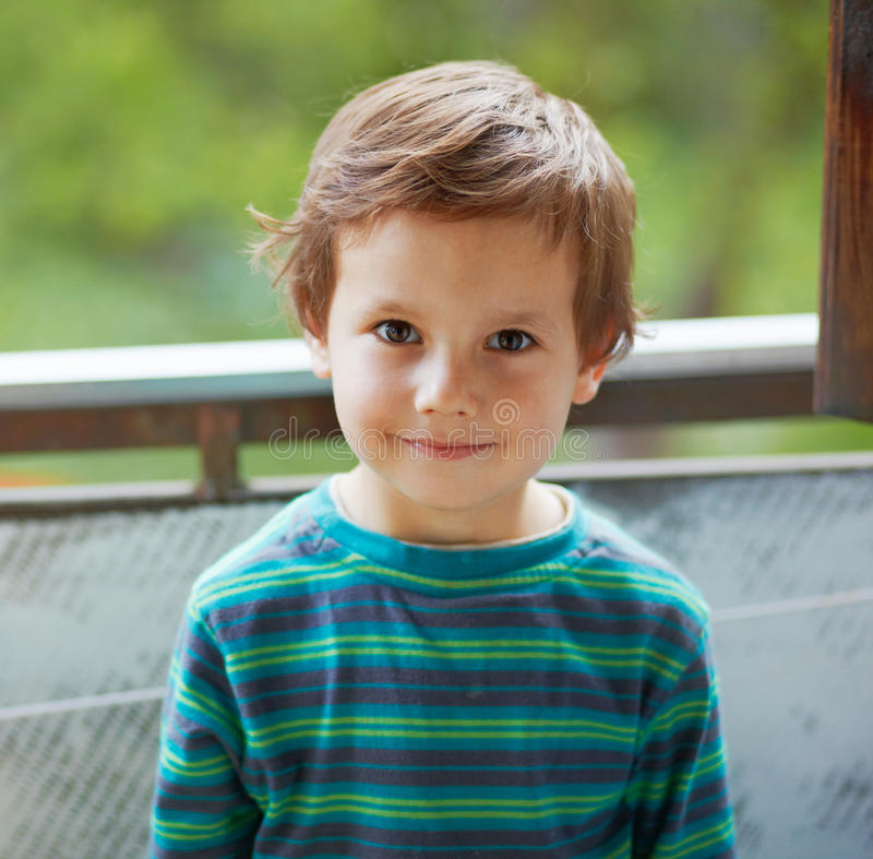 Download Small Smiling Boy. Royalty Free Stock Image - Image: 24152996