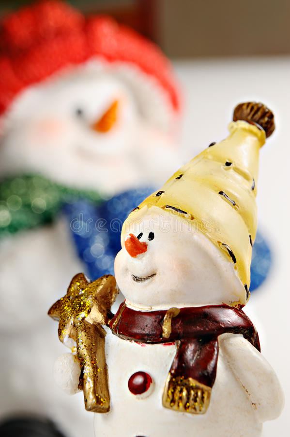 Download Small Snowball Against The Big Snowball Stock Photo - Image: 12138728