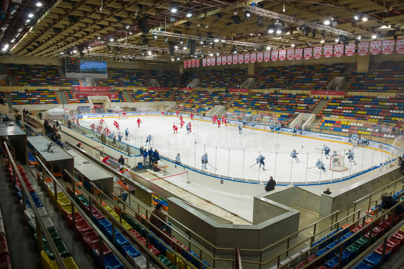 Small Sports Arena Luzhniki royalty free stock image
