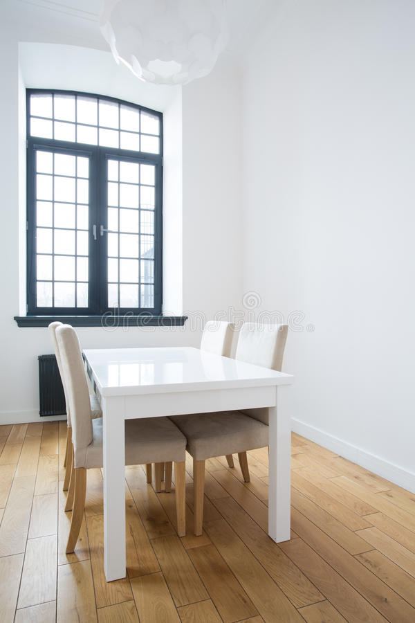 Small square table royalty free stock image