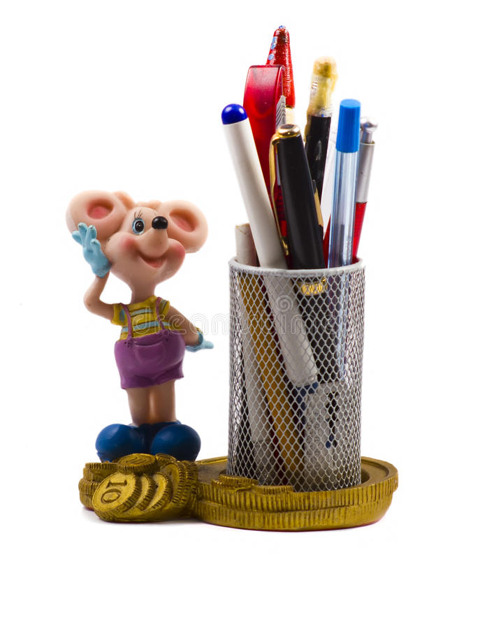 Small Statuette Of A Mouse Stock Photos