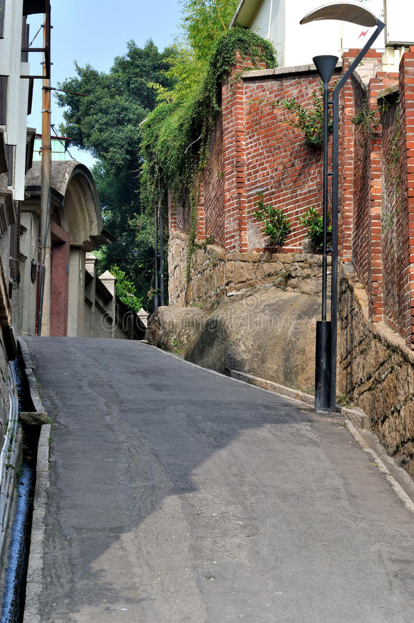 Download Small Street And Old Buildings Stock Photo - Image: 26753832