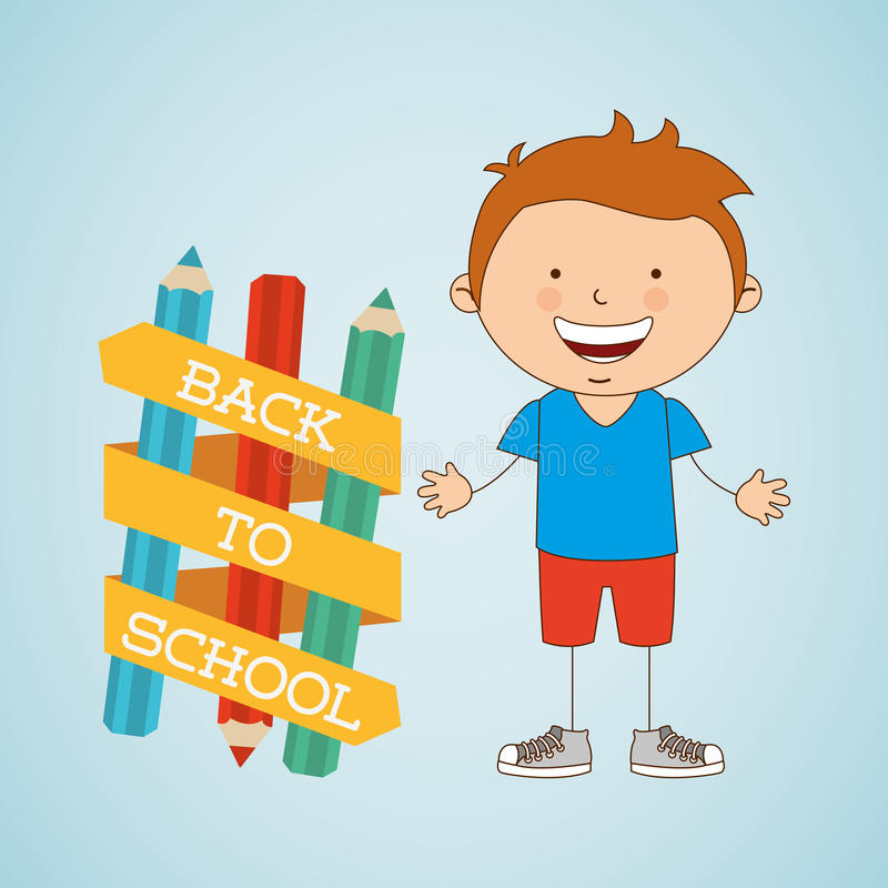 Small students design. Illustration eps10 graphic royalty free illustration