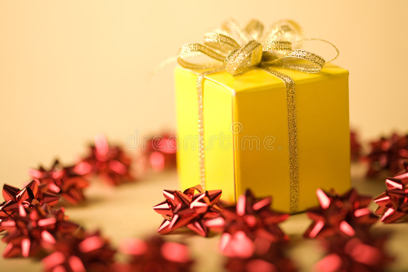 Download Small surprise stock image. Image of december, ribbon - 7140853