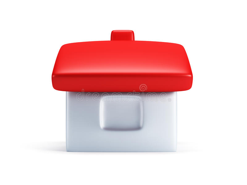 Download Small Symbolic House 3d Render Royalty Free Stock Photography - Image: 19209267