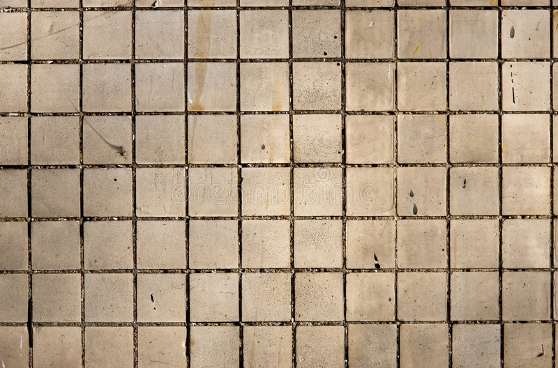 Small tile. Texture on wall